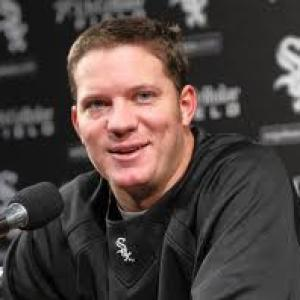 Pre-game interview with Jake Peavy for Knights Baseball Network