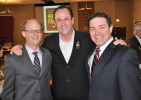 Mike w/ Dave Friedman and Wichita State HC Gregg Marshall